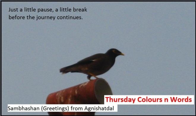 Thursday Colours n Words soct 20.10.16